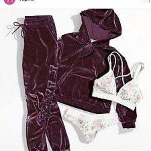Victoria secret Pink - velvet track suit